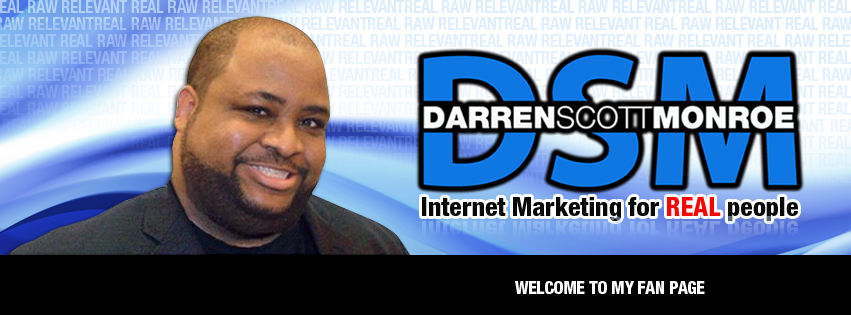 Facebook Cover Design for Darren Scott Monroe