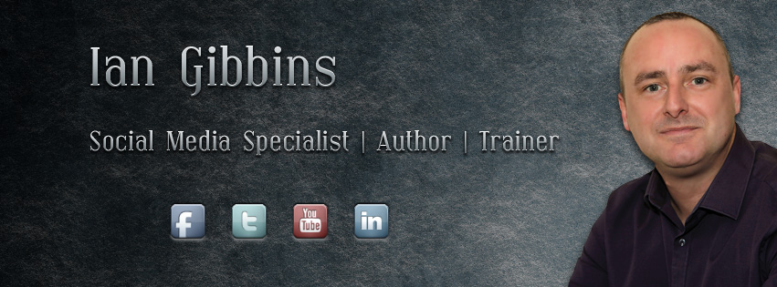 Facebook Cover Photo Design for Ian Gibbins