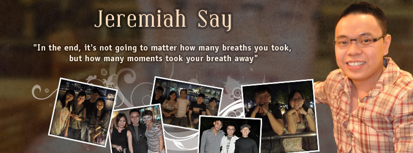 Facebook Cover Photo Design for Jeremiah Say