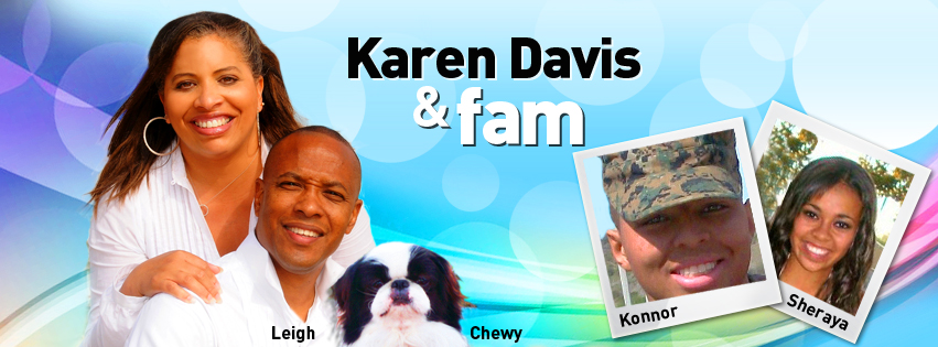 Facebook Cover Design for Karen Davis