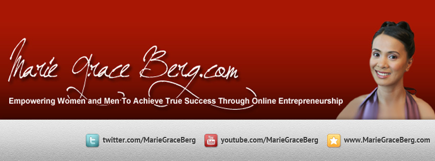 Facebook Cover Photo Design for MarieGrace Velayo-Berg