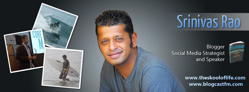 Facebook Cover Design for Srinivas Rao