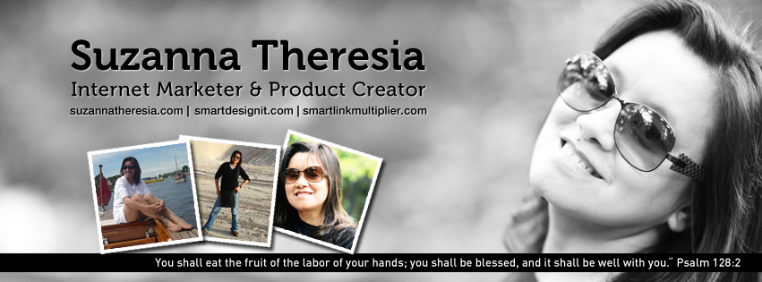 Facebook Cover Design for Suzanna Theresia